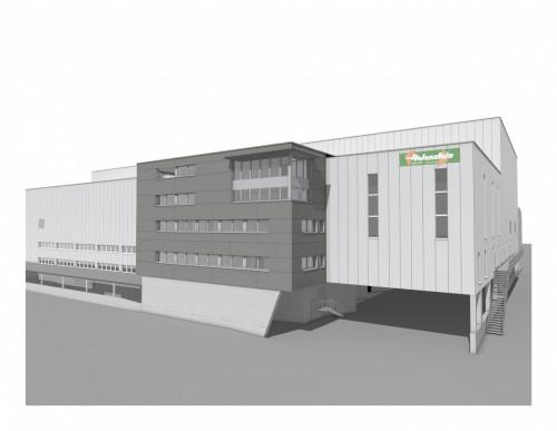 Neubau Lagerhalle, Schwarzenbach – «Schritt für Schritt zur neuen Halle»