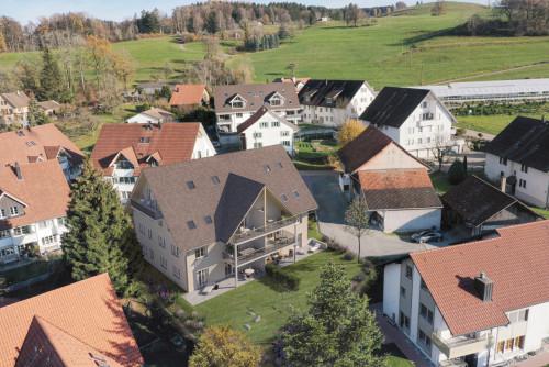 Neubau MFH, Ehrikon – Gut eingebettet ins Dorfbild