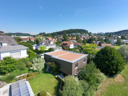 Neubau Garagen, Eschlikon - Wenn der Autoabstellplatz zum Blickfang wird