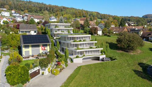 Neubau MFH, Hüttwilen – Wohlfühloasen mitten im Grünen