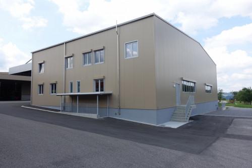Neubau Lagerhalle, Oberuzwil – Wenn das Lager voll ist...