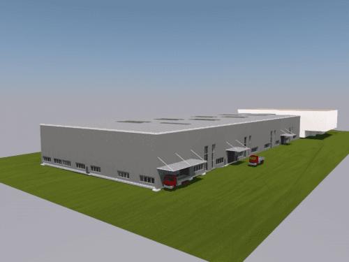 Neubau Produktions- und Lagerhalle, Andwil
