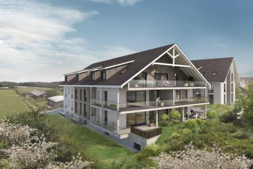 Neubau von zwei MFH, Weiningen